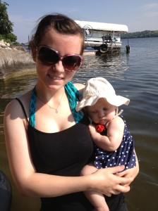 We're determined not to raise one of those whiny Olympians who complains about water temp!